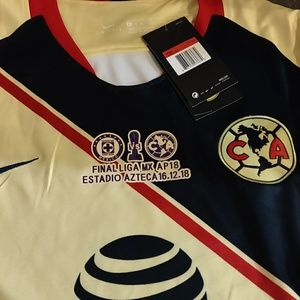 new styles caa14 f85c2 AGUILAS AMERICA JERSEY 2018 NWT